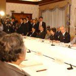 4月23日のできごと【小泉純一郎首相】中央防災会議に出席
