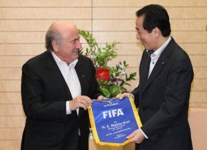 5月23日は何の日【菅直人首相】FIFA会長が表敬訪問