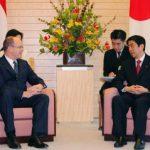 4月23日のできごと【安倍晋三首相】モナコ公国・アルベール2世公と会談
