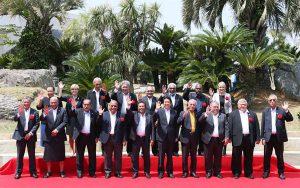 5月23日は何の日【安倍晋三首相】島サミットで「法の原則」強調