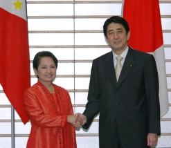 5月23日は何の日【安倍晋三首相】フィリピン・アロヨ大統領と会談