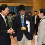 4月23日のできごと【鳩山由紀夫首相】五輪出場者をねぎらう