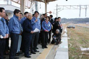 3月24日は何の日【安倍晋三首相】福島県を訪問