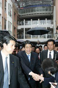 3月24日は何の日『安倍晋三首相】高松、岡山を訪問