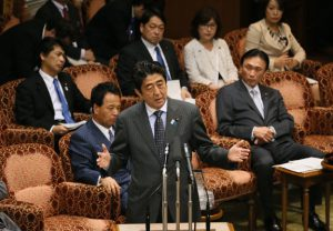 4月24日は何の日【安倍晋三首相】「わが閣僚はどんな脅かしにも屈しない」