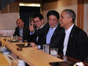 4月23日のできごと【米・オバマ大統領】安倍首相と銀座で寿司に舌鼓