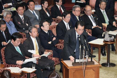 【菅直人首相】政権維持に意欲