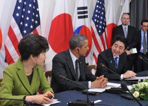 3月25日は何の日【安倍晋三首相】朴槿恵氏と初会談