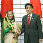 5月26日のできごと【安倍晋三首相】バングラデシュ・ハシナ首相と会談