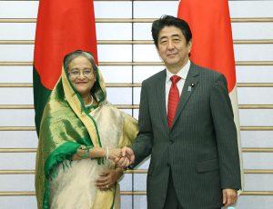 5月26日は何の日【安倍晋三首相】バングラデシュ・ハシナ首相と会談