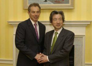 4月26日は何の日【小泉純一郎首相】英・ブレア首相と会談