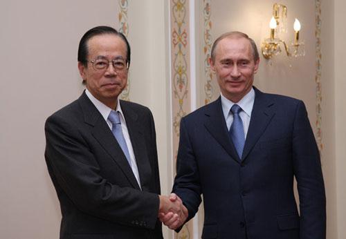 4月26日のできごと(何の日)【福田康夫首相】ロシア・プーチン大統領と会談