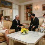 3月26日のできごと(何の日)【安倍晋三首相】スウェーデン国王を表敬訪問