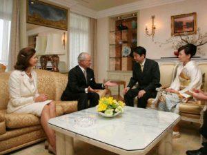 3月26日は何の日【安倍晋三首相】スウェーデン国王を表敬訪問