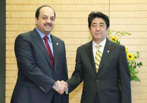 5月27日は何の日【安倍晋三首相】カタール外相と会談