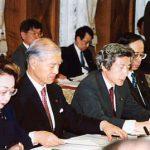 6月28日のできごと(何の日)【小泉純一郎首相】中央防災会議に出席
