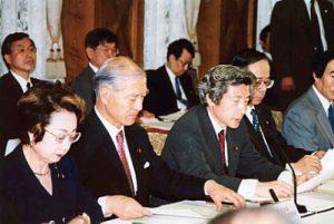 6月28日は何の日【小泉純一郎首相】中央防災会議に出席