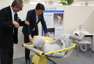 6月28日は何の日【安倍晋三首相】大阪の中小企業を訪問