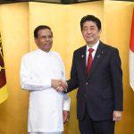 5月28日のできごと【安倍晋三首相】スリランカ大統領と会談