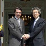 4月28日のできごと【小泉純一郎首相】スペイン・アスナール首相と会談