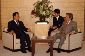5月28日は何の日【小泉純一郎首相】国連総会議長と会談