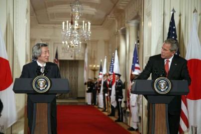6月29日のできごと(何の日)【小泉純一郎首相】米・ブッシュ大統領と会談