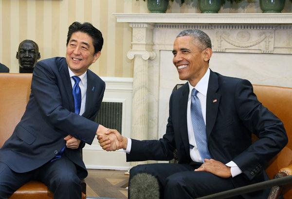 2015 平成27年4月28日のできごと【安倍晋三首相】米・オバマ大統領と会談