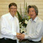 6月29日のできごと(何の日)【ビル・ゲイツ氏】小泉首相を表敬訪問
