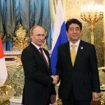 4月29日のできごと【安倍晋三首相】ロシア・プーチン大統領と会談