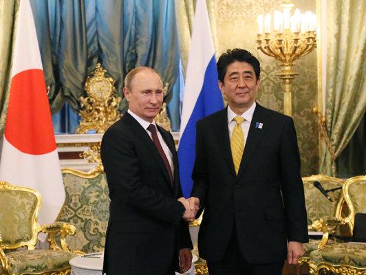 4月29日のできごと(何の日)【安倍晋三首相】ロシア・プーチン大統領と会談