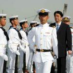 4月29日のできごと【安倍晋三首相】派遣活動中の海自部隊を激励