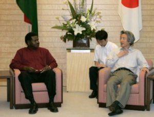 6月29日は何の日【小泉純一郎首相】バヌアツ共和国首相と会談