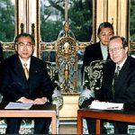 3月10日のできごと(何の日)【小渕恵三首相】米・ペリー政策調整官と会談