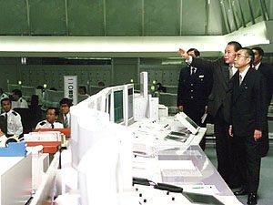 3月11日は何の日【小渕恵三首相】警視庁を視察