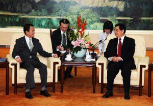 4月30日は何の日【麻生太郎首相】中国・胡錦濤国家主席と会談