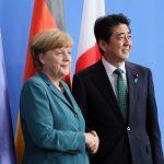 4月30日のできごと【安倍晋三首相】独・メルケル首相と会談