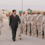 5月1日のできごと【安倍晋三首相】クウェートで空自部隊を激励