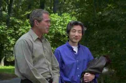 6月30日のできごと(何の日)【小泉純一郎首相】米・ブッシュ大統領と会談