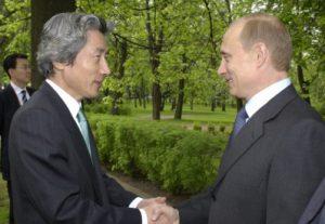 5月30日は何の日【小泉純一郎首相】ロシア・プーチン大統領と会談