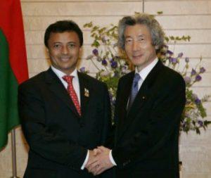 5月31日は何の日【小泉純一郎首相】マダガスカル大統領と会談