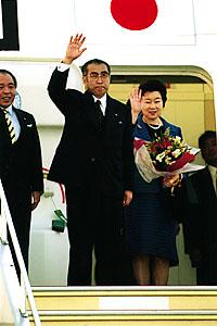 4月29日のできごと(何の日)【小渕恵三首相】米国訪問