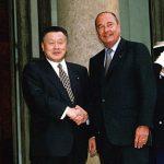 5月2日のできごと【森喜朗首相】仏・シラク大統領と会談