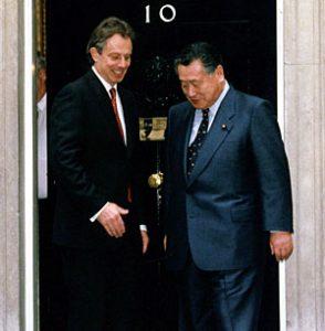 5月3日は何の日【森喜朗首相】英・ブレア首相と会談