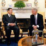 5月5日のできごと【森喜朗首相】米・クリントン大統領と会談