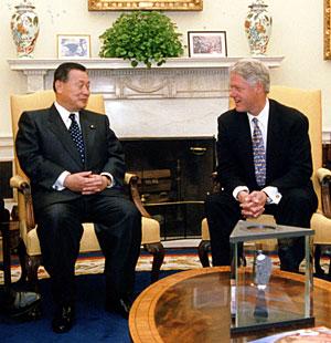5月5日のできごと(何の日)【森喜朗首相】米・クリントン大統領と会談
