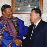 6月12日のできごと(何の日)【森喜朗首相】ガーナ大統領と会談