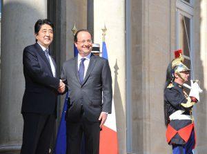 5月5日は何の日【安倍晋三首相】仏・オランド大統領と会談