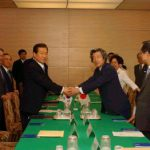 7月1日のできごと(何の日)【小泉純一郎首相】韓国・金大中大統領と会談