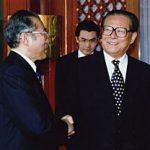7月9日のできごと(何の日)【小渕恵三首相】中国首脳と会談