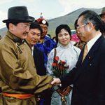 7月10日のできごと(何の日)【小渕恵三首相】モンゴル首脳と会談